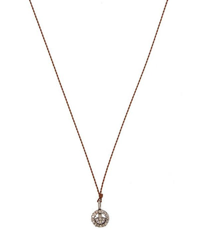 Margaret Solow Diamond Pave Necklaces
