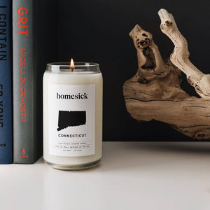 Homesick Connecticut Candle - Wanderlustre