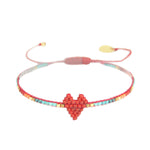 Load image into Gallery viewer, Mishky Heart Beaded Bracelet - Wanderlustre