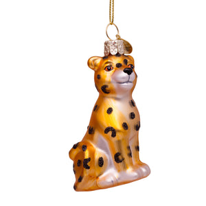 Gold Baby Panther Ornament