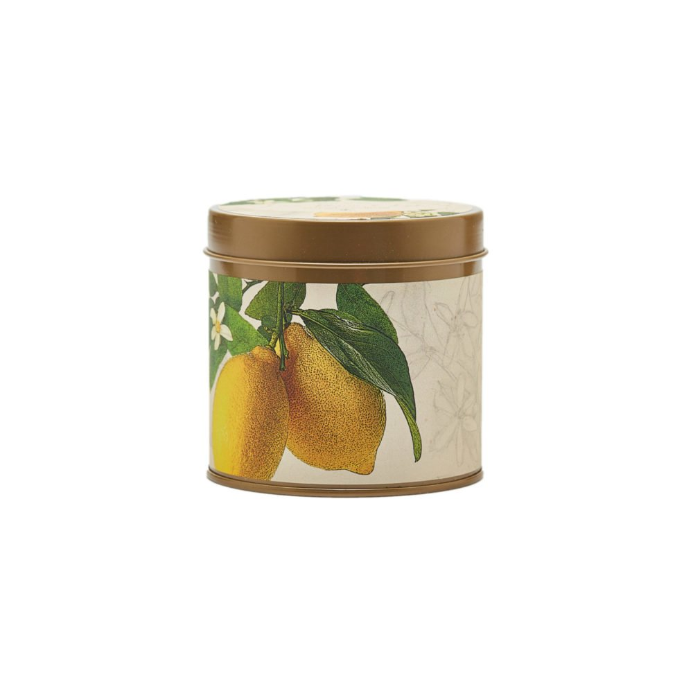 Rosy Rings Lemon Blossom & Lychee Signature Tin Candle
