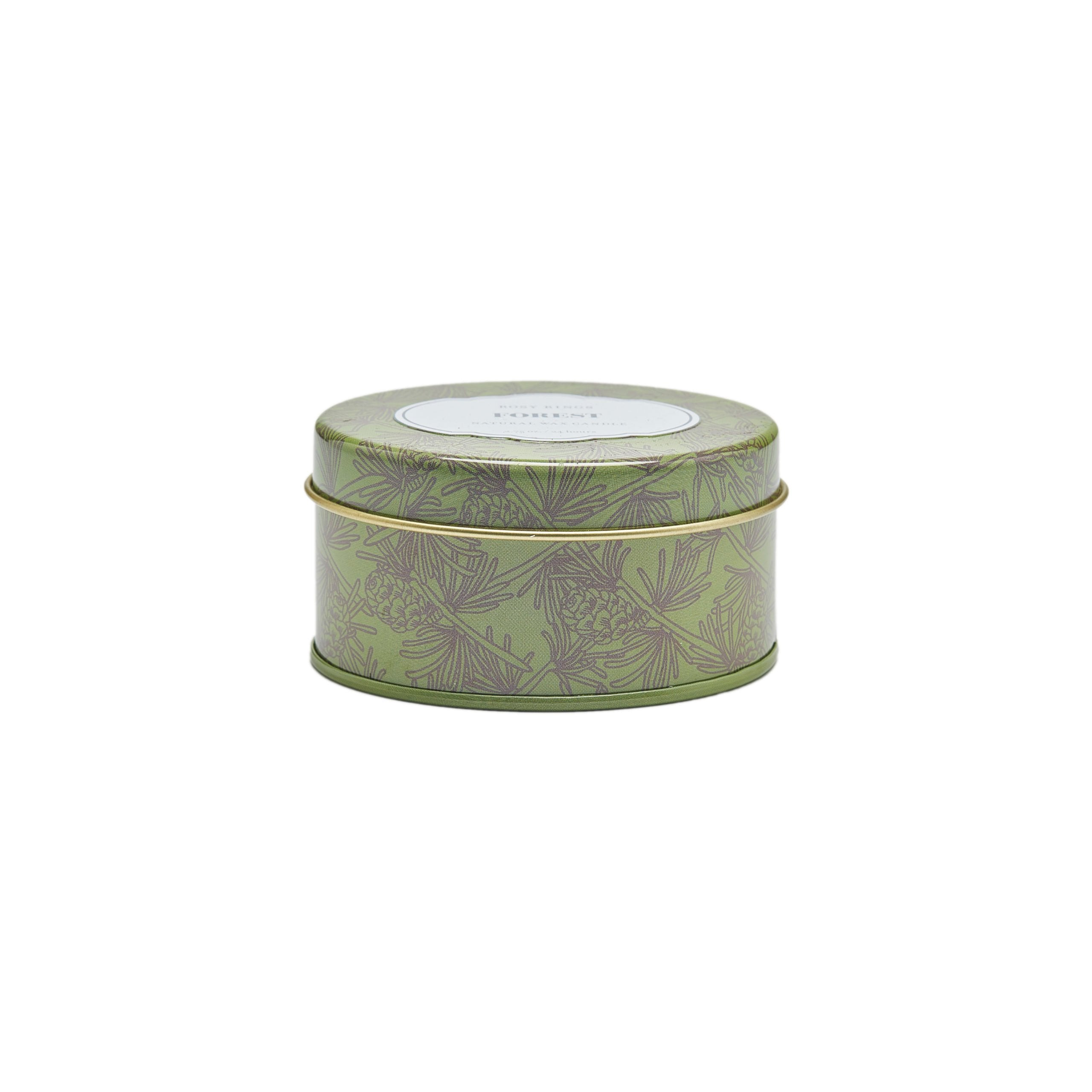 Rosy Rings Forest Travel Tin Candle