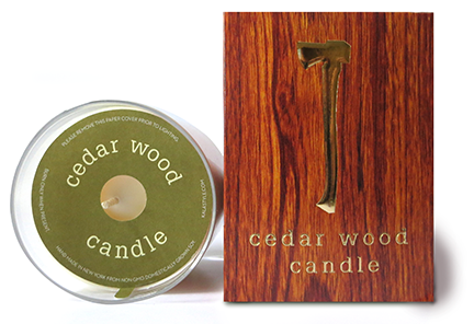 Kalastyle - Cedar Wood Candle