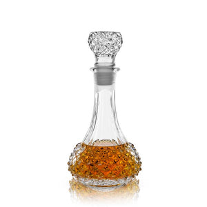 Studded Glass Decanter