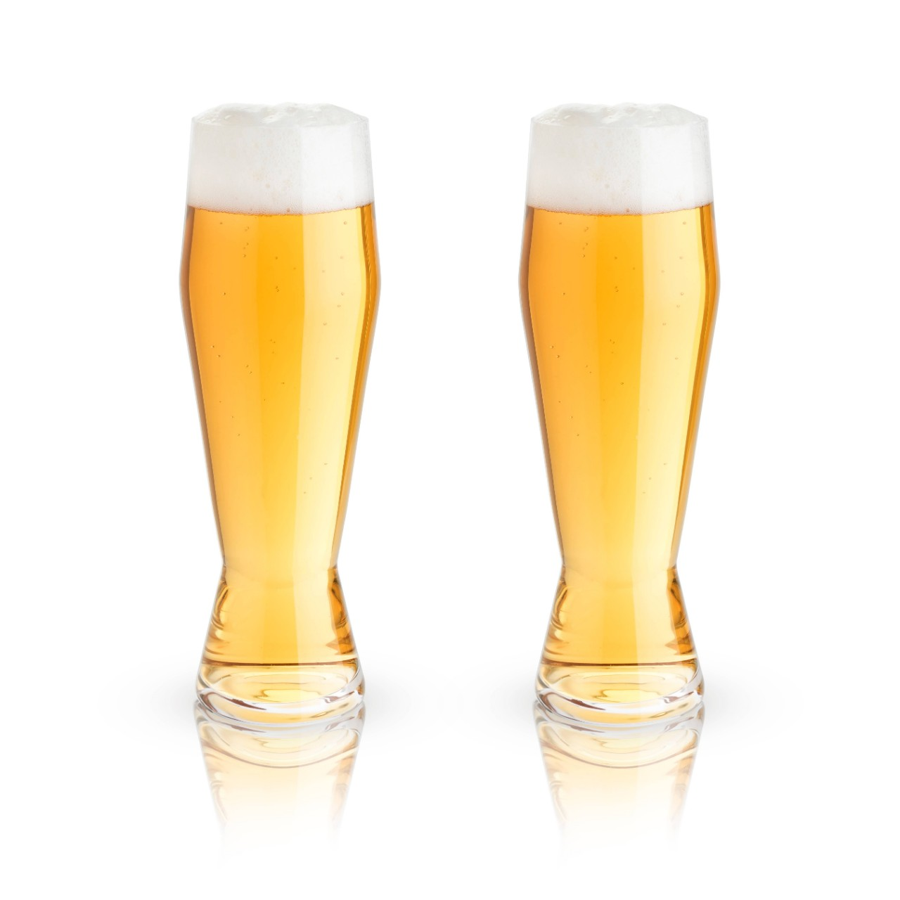 Crystal Weizen Glasses (set of 2)