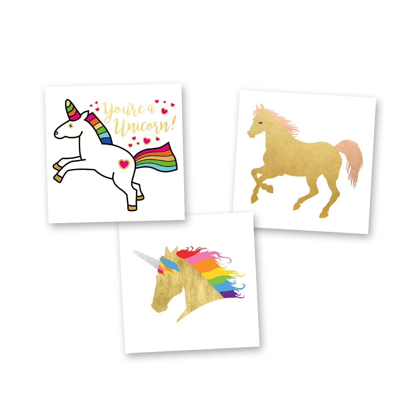 Flash Tattoos - Unicorn Dreams Variety Set - Wanderlustre