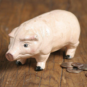 Cast Iron Pig Bank - Wanderlustre