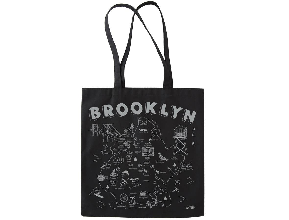 Maptote Brooklyn Black Everyday Tote
