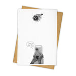 Load image into Gallery viewer, Karl Lagerfeld Never Change Card - Wanderlustre