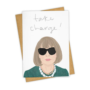 Anna Wintour Take Charge Card