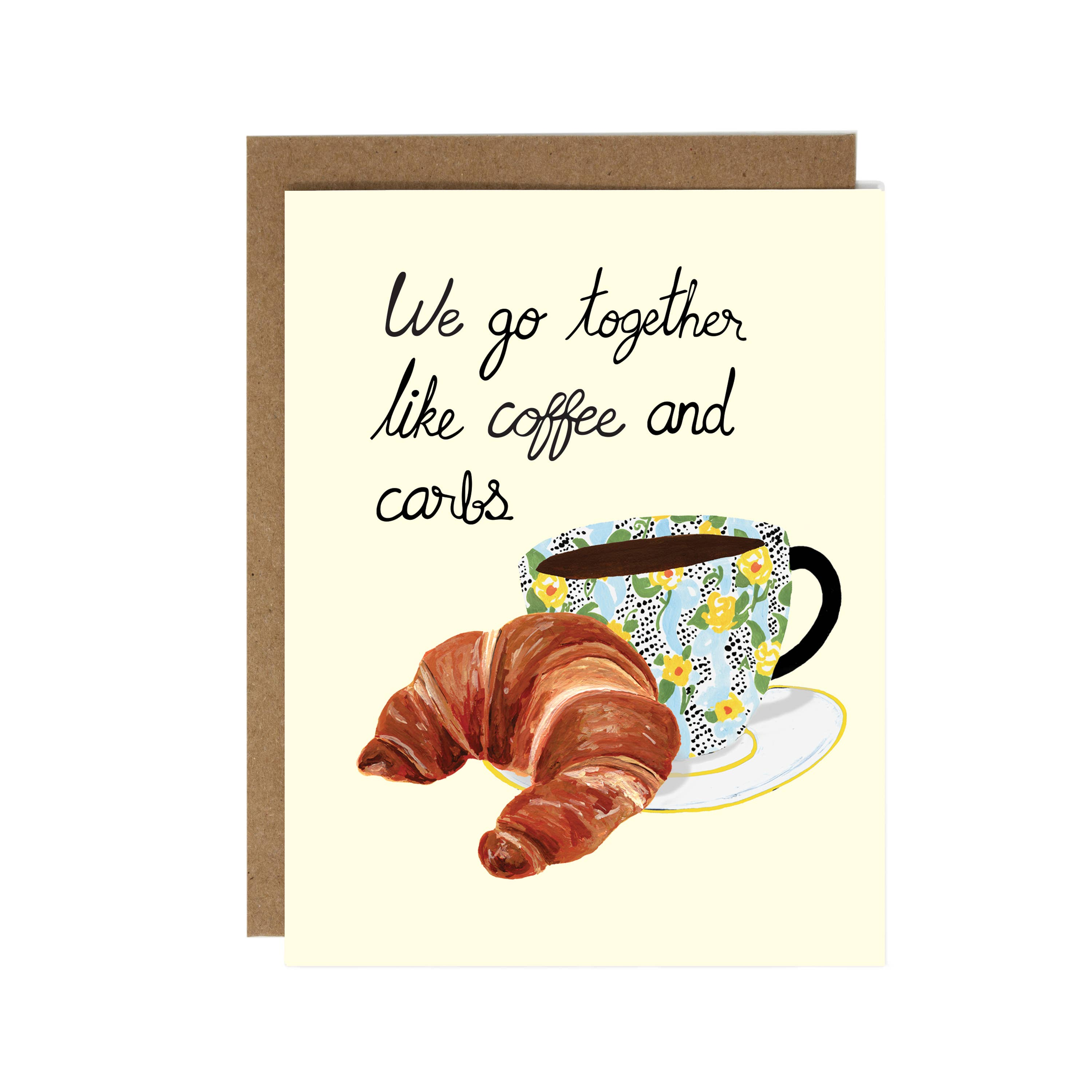 Coffee and Carbs Card