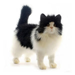 Load image into Gallery viewer, Black and White Cat by Hansa