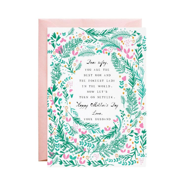 The Foxiest Lady Mother's Day Card - Wanderlustre
