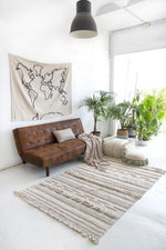 Load image into Gallery viewer, Air Washable Rug - Natural - Wanderlustre