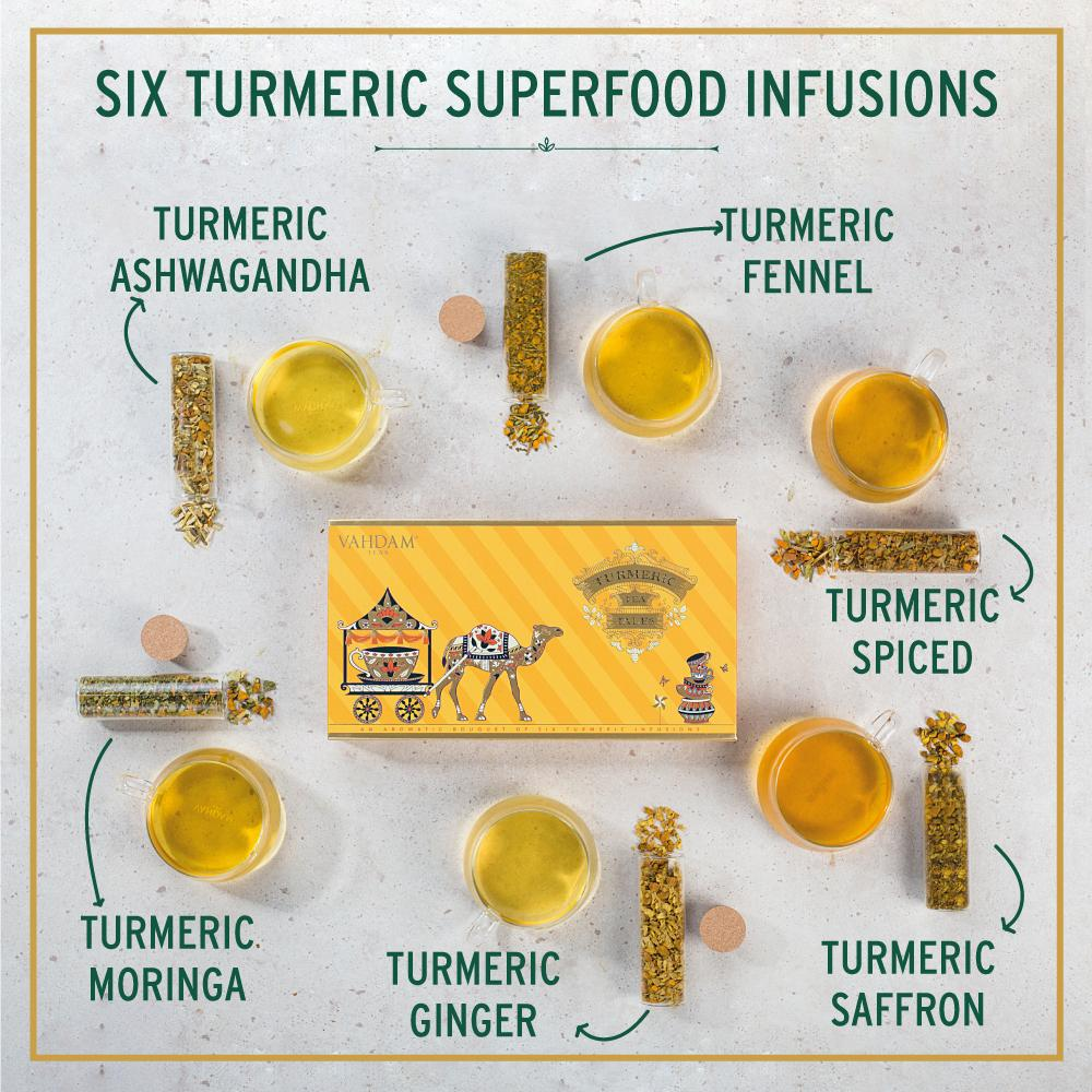 Turmeric Tea Tales Gift Set (set of 6 teas)
