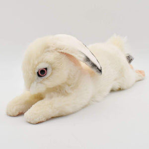 Bunny, White Floppy Ear by Hansa - Wanderlustre