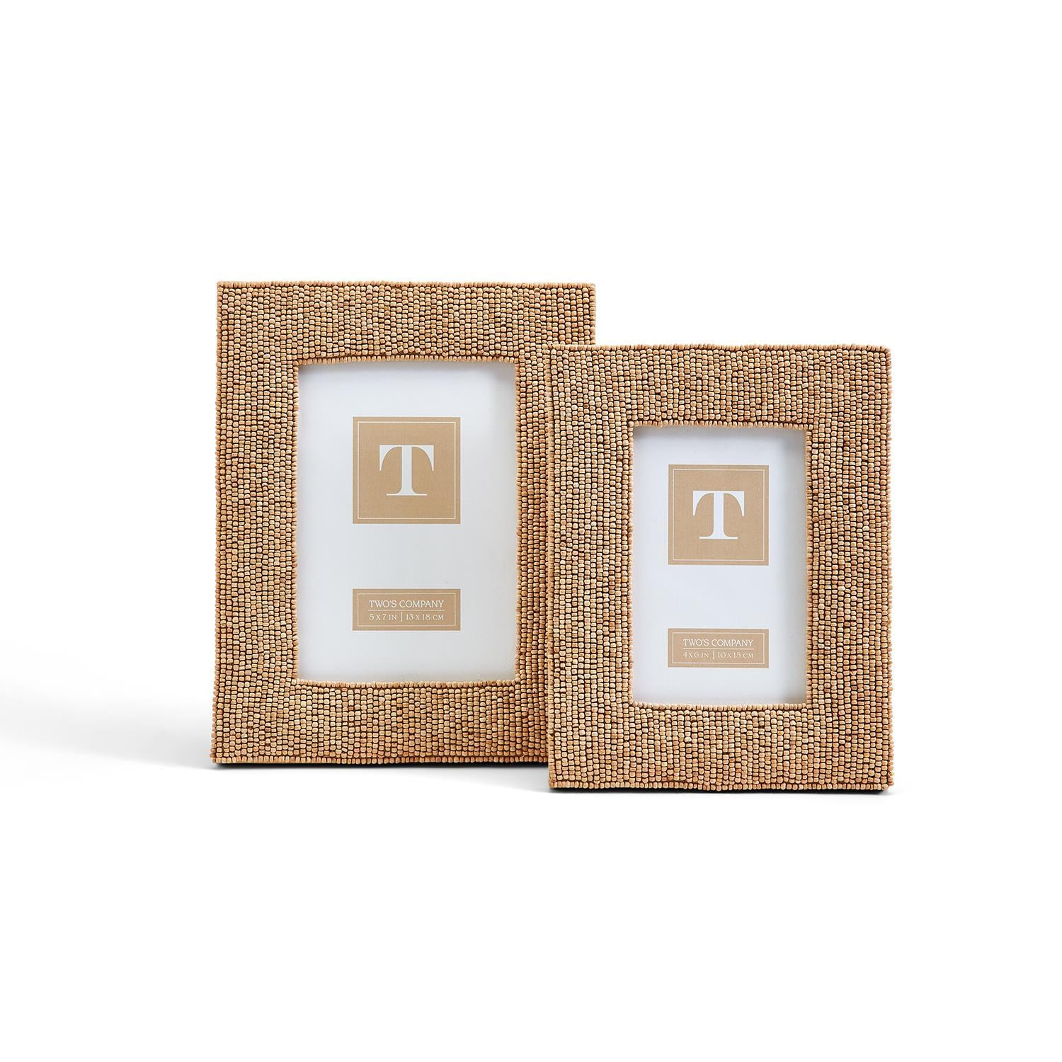 Beaded Photo Frames