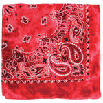 Load image into Gallery viewer, Tie Dye Paisley Print Cotton Bandana - Wanderlustre