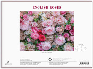 English Roses 1000 Piece Jigsaw Puzzle