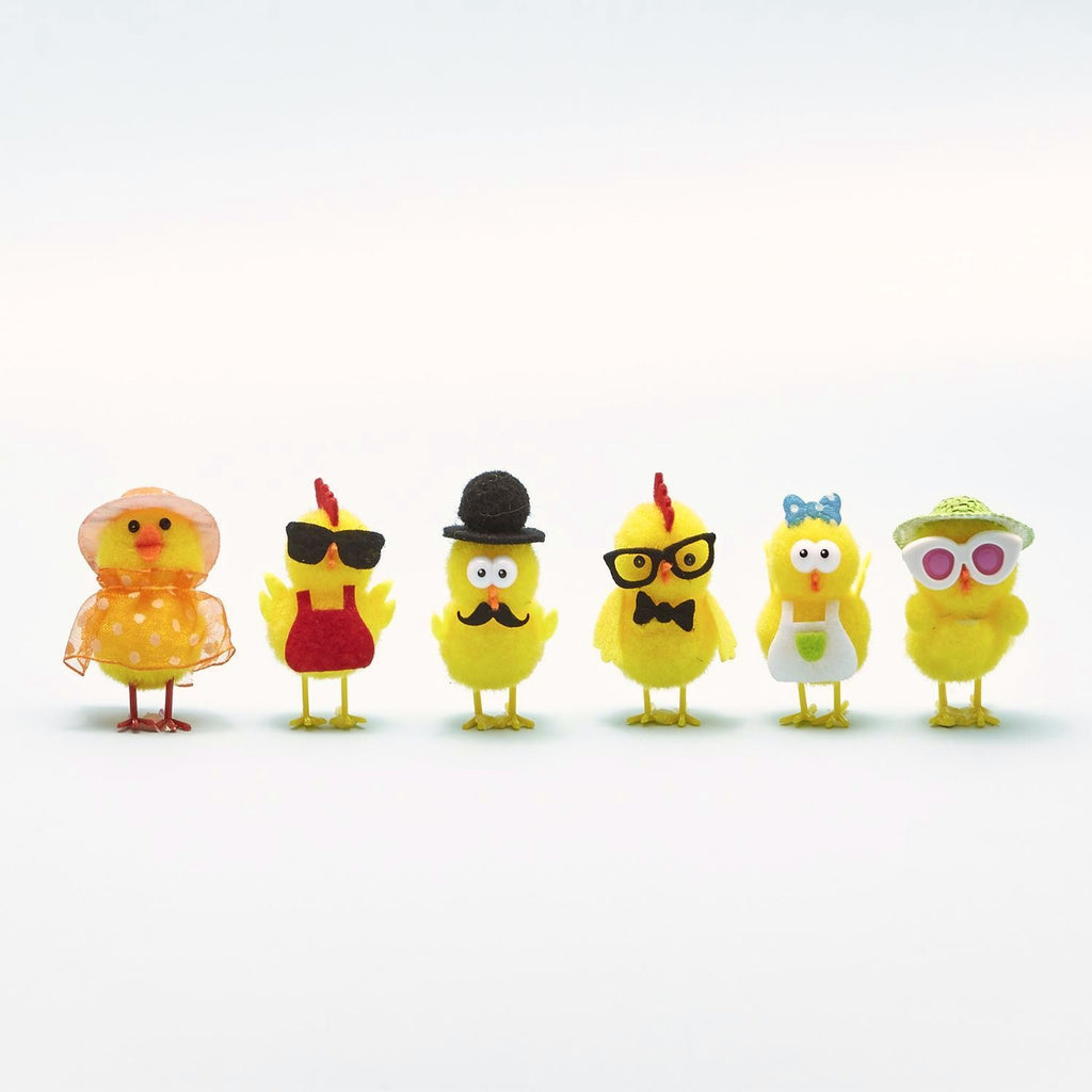 Pom Pom Easter Chicks - Wanderlustre