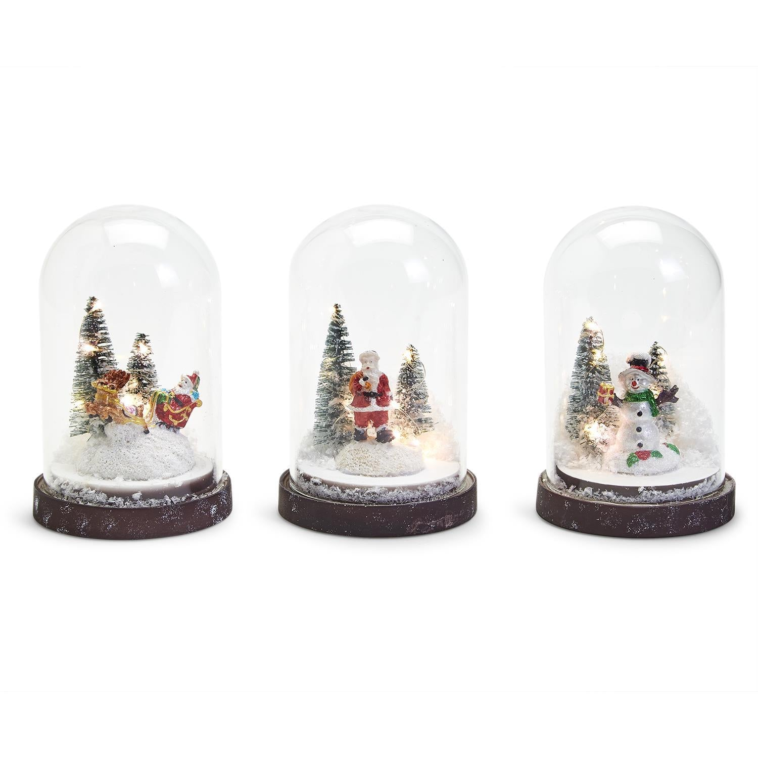 LED Light Up Snow Globe
