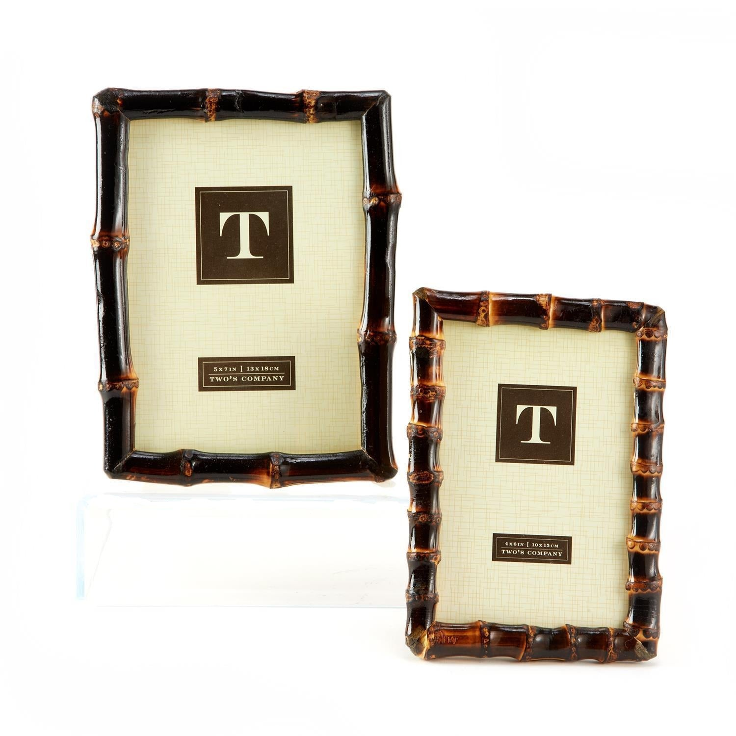 Bamboo Photo Frames