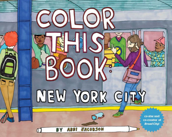 Color this Book: New York City - Wanderlustre