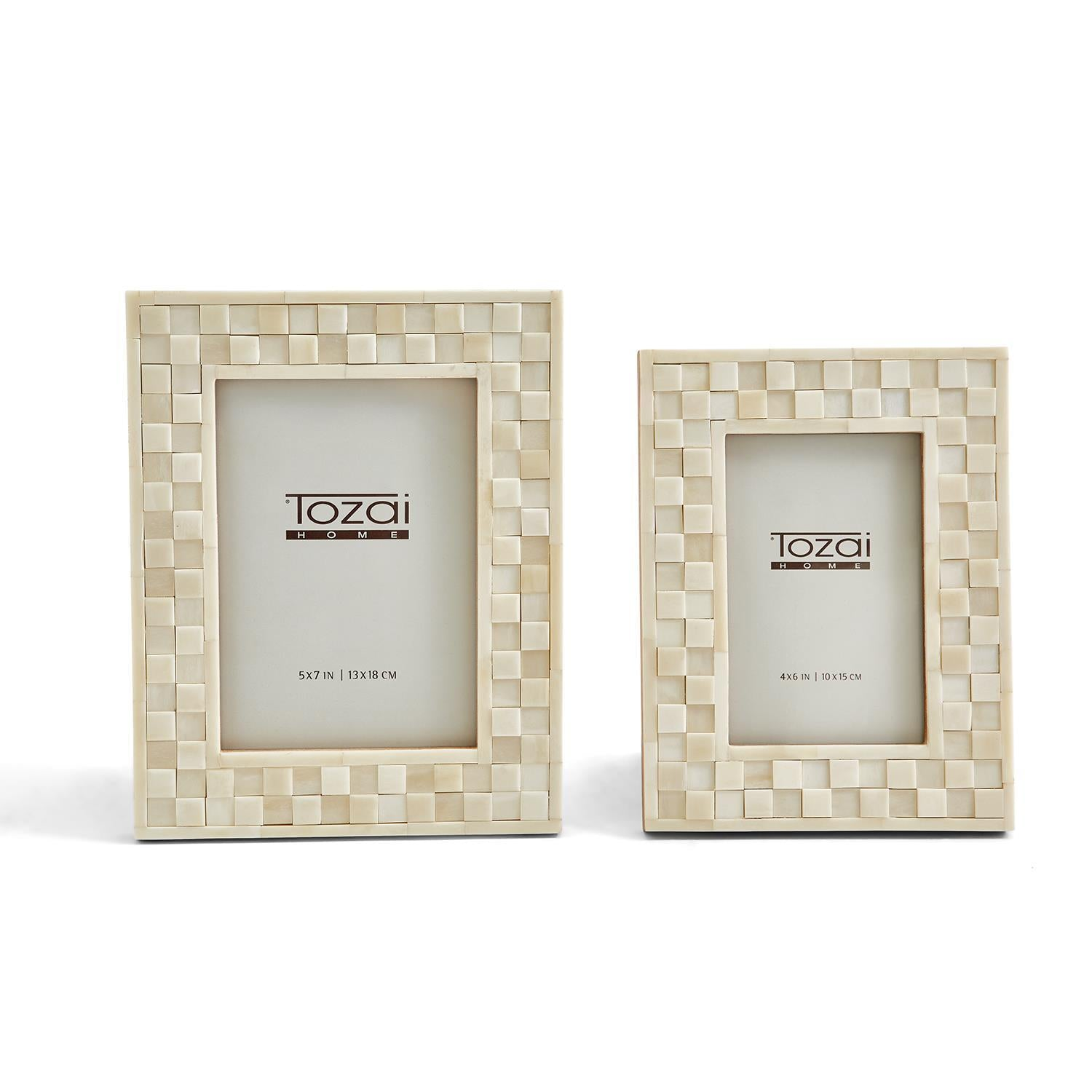 Cube Pattern Photo Frames