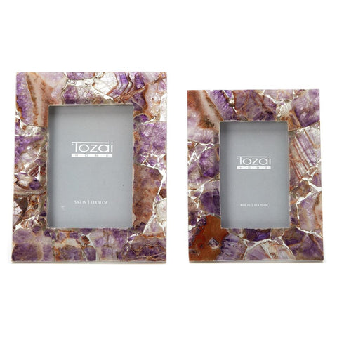 Amethyst Picture Frames
