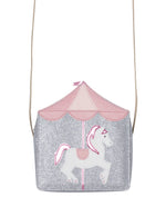 Load image into Gallery viewer, Carousel Horse Shoulder Bag - Wanderlustre