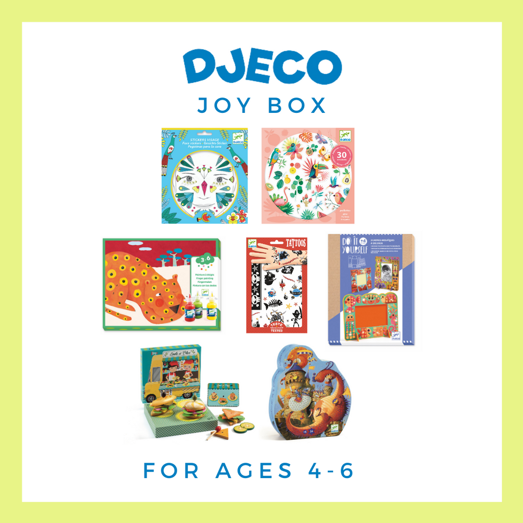 NEW! Djeco Joy Box for Ages 4–6 - Wanderlustre