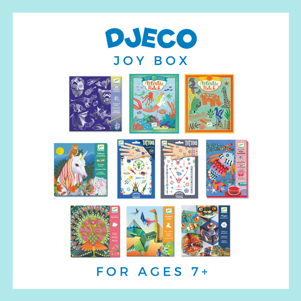 NEW! Djeco Joy Box for Ages 7+ - Wanderlustre