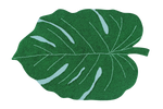 Load image into Gallery viewer, Monstera Leaf Washable Rug - Wanderlustre