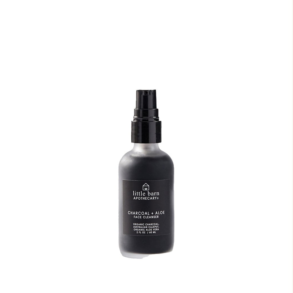 Charcoal + Aloe Face Cleanser - Wanderlustre
