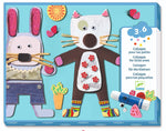 Load image into Gallery viewer, Cardboard Collages for Little Ones by Djeco - Wanderlustre