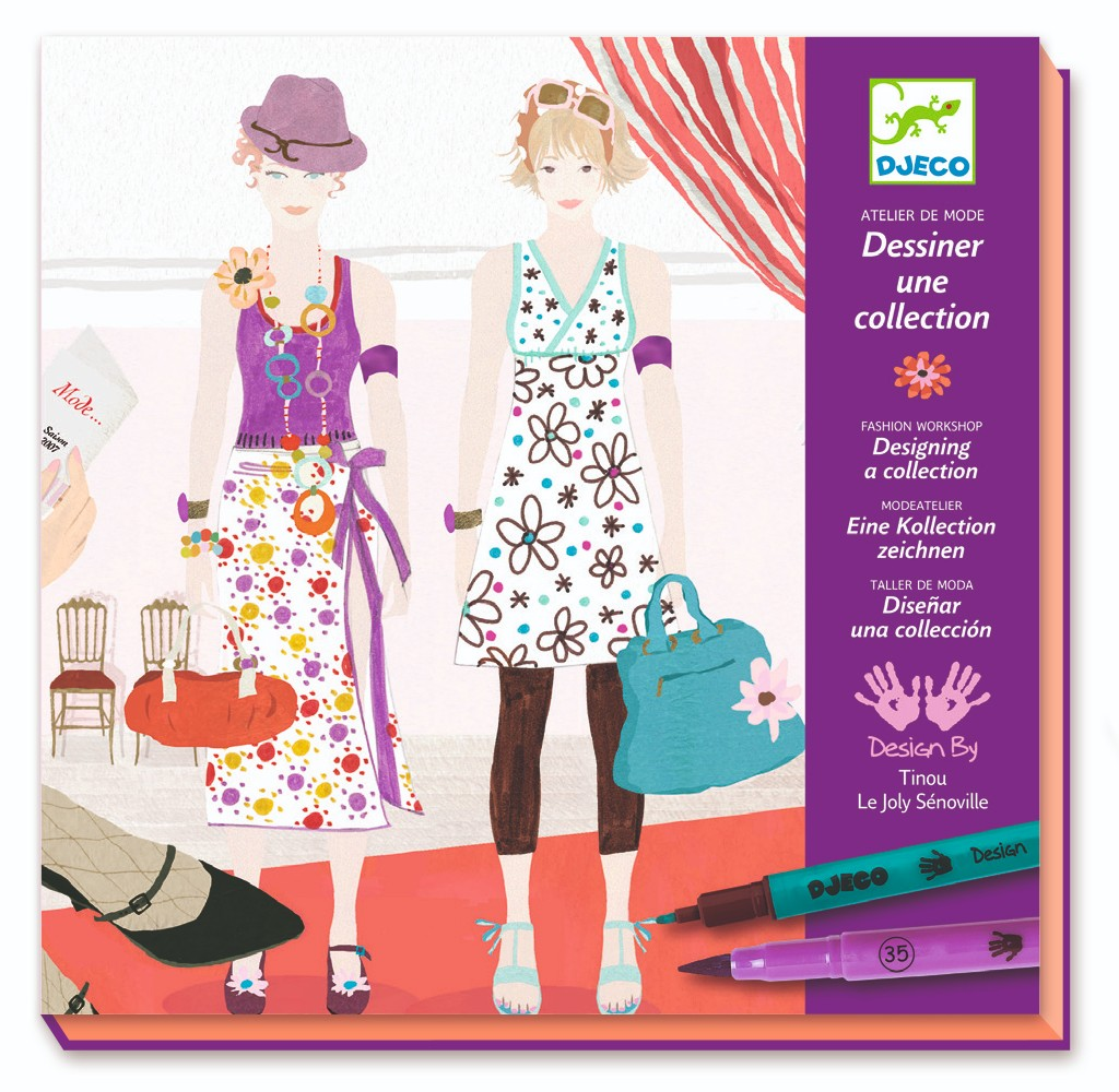 Fashion Design Kit by Djeco - Wanderlustre