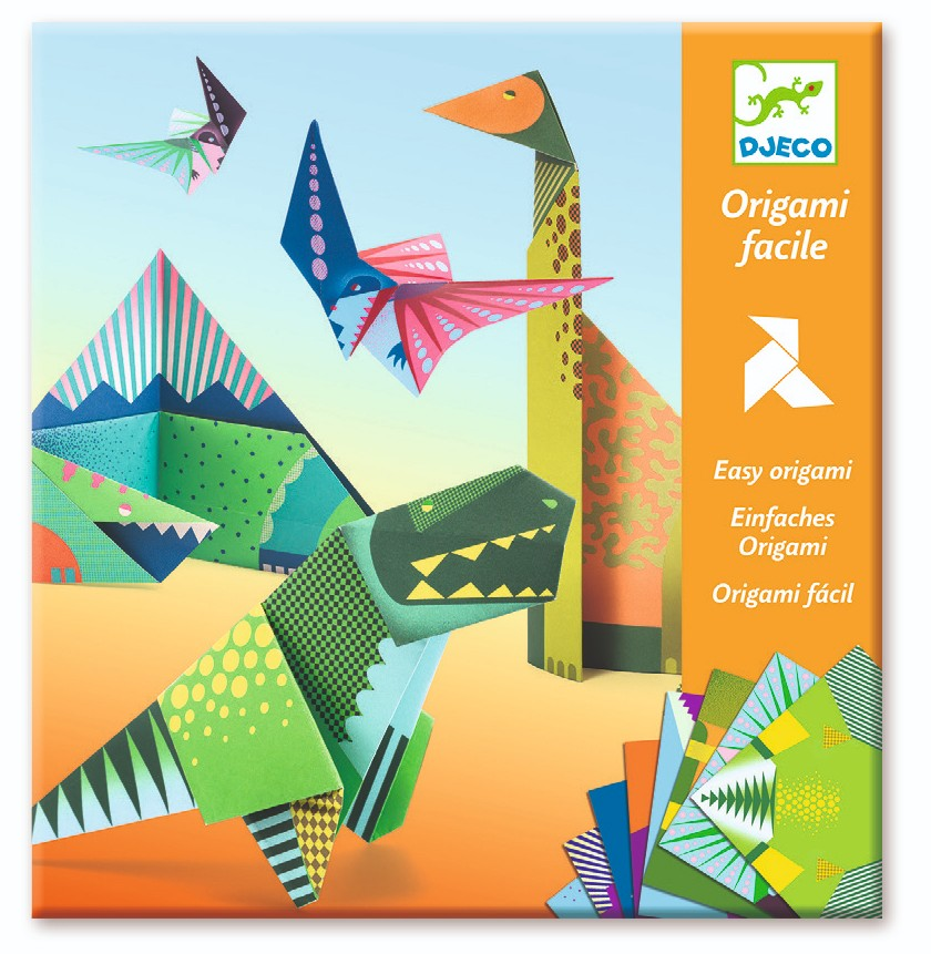 Dinosaurs Origami Set by Djeco - Wanderlustre