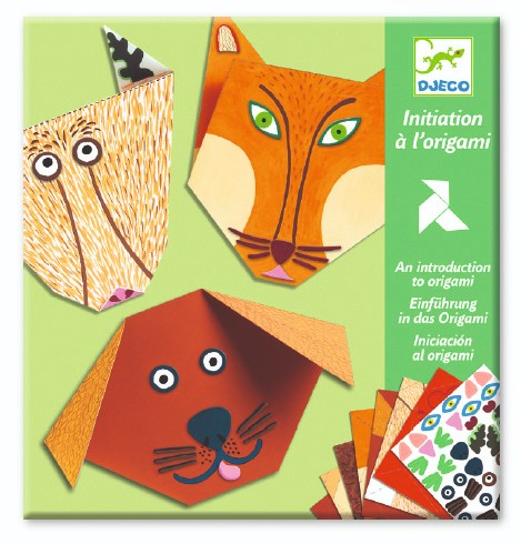 Animal Origami Craft Set by Djeco - Wanderlustre