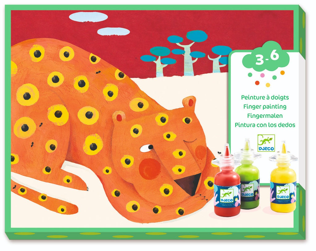 Finger Painting Kit by Djeco - Wanderlustre