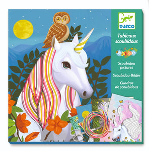 Unicorn Art Kit by Djeco - Wanderlustre