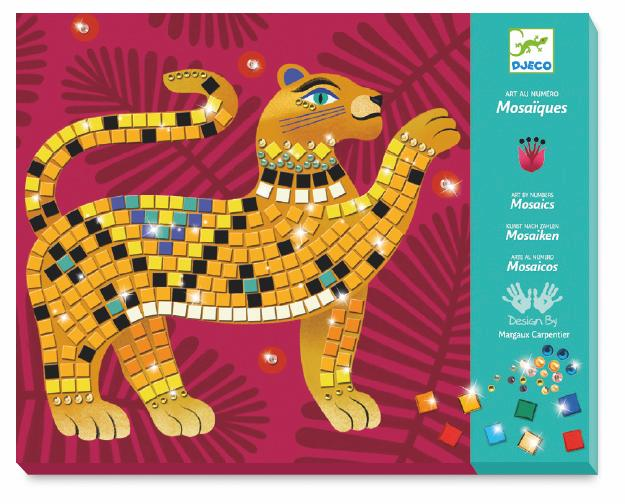 Mosaics Deep in the Jungle Kit by Djeco
