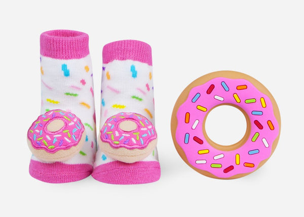 Donut Teether Gift Set