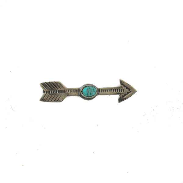 Arrow Pin with Turquoise