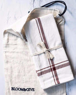 Load image into Gallery viewer, Malabar Hand-Loomed Napkin Set - Wanderlustre