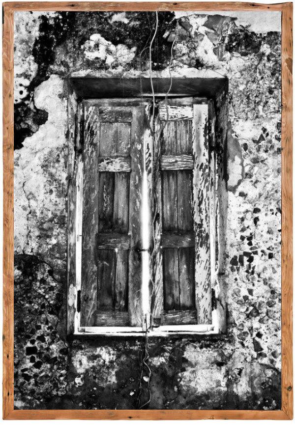 Window Crumbling by David Ballam - Wanderlustre