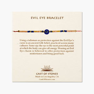 Cast Of Stones Evil Eye Bracelets