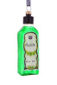 Absinthe Bottle Ornament