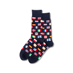 Load image into Gallery viewer, Men's Flags Crew Socks - Wanderlustre