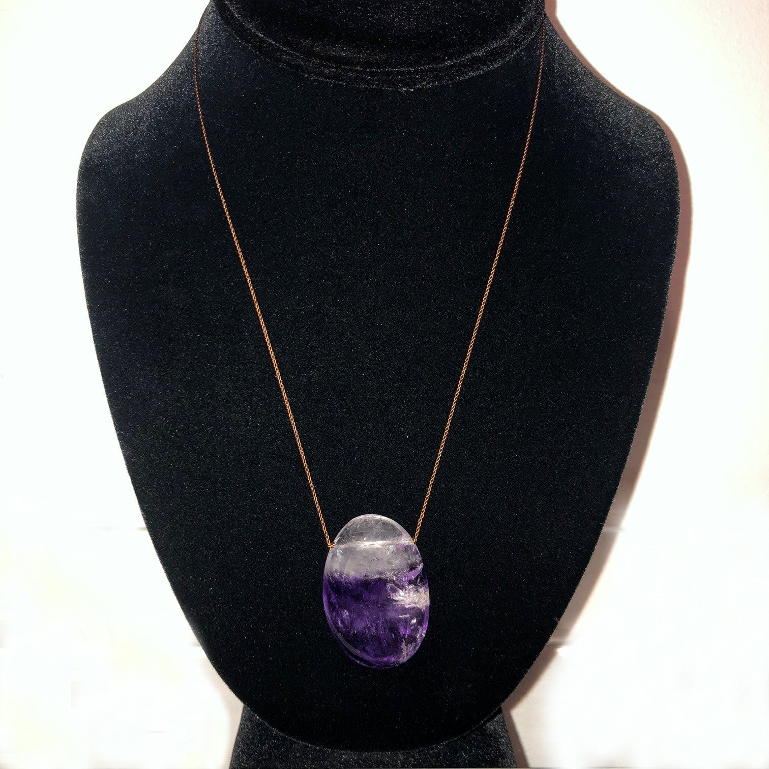 Margaret Solow Amethyst Necklace - Wanderlustre