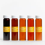 Load image into Gallery viewer, Jacobsen Co. Five Vial Raw Honey Set